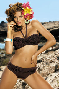 Marko Swimsuit two piece brown 18184