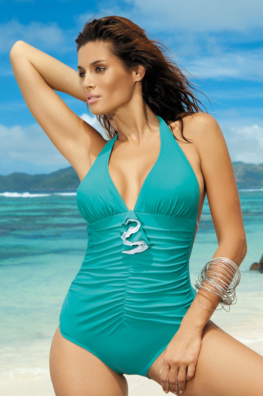 Marko Swimsuit one piece green 40689