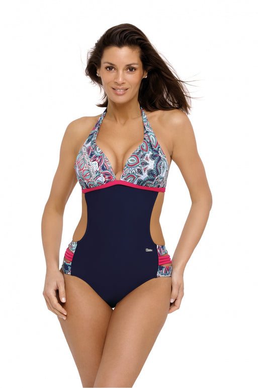 Marko Swimsuit one piece navy blue 129273