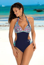 Load image into Gallery viewer, Marko Swimsuit one piece navy blue 129272