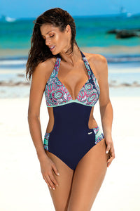Marko Swimsuit one piece navy blue 129272