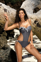 Load image into Gallery viewer, Marko Swimsuit one piece grey 129276