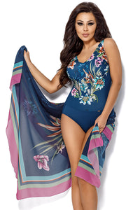Ava Swimsuit one piece navy blue 129899