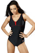 GWINNER Swimsuit one piece black 41236