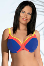 Load image into Gallery viewer, Ava Swimming bra blue 41705