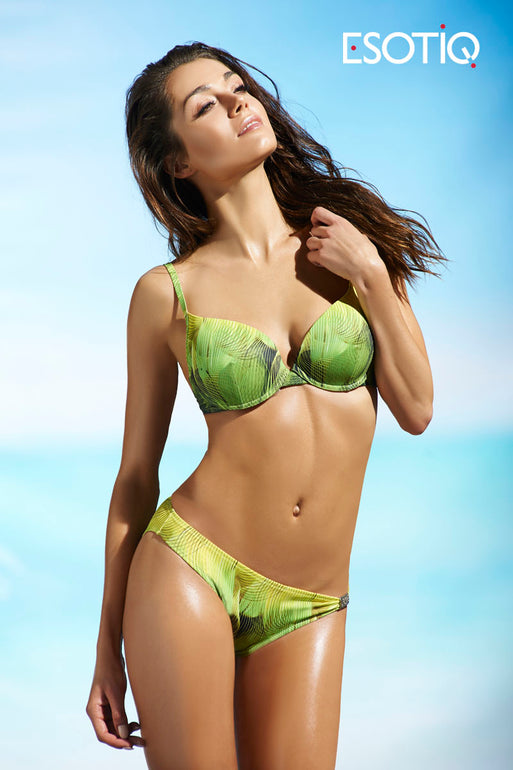 Esotiq Swimsuit two piece green 43070