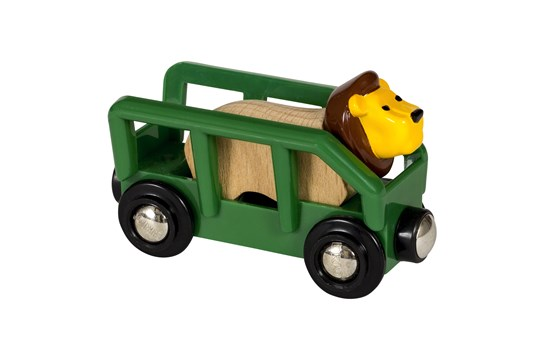 Brio Lion and Wagon