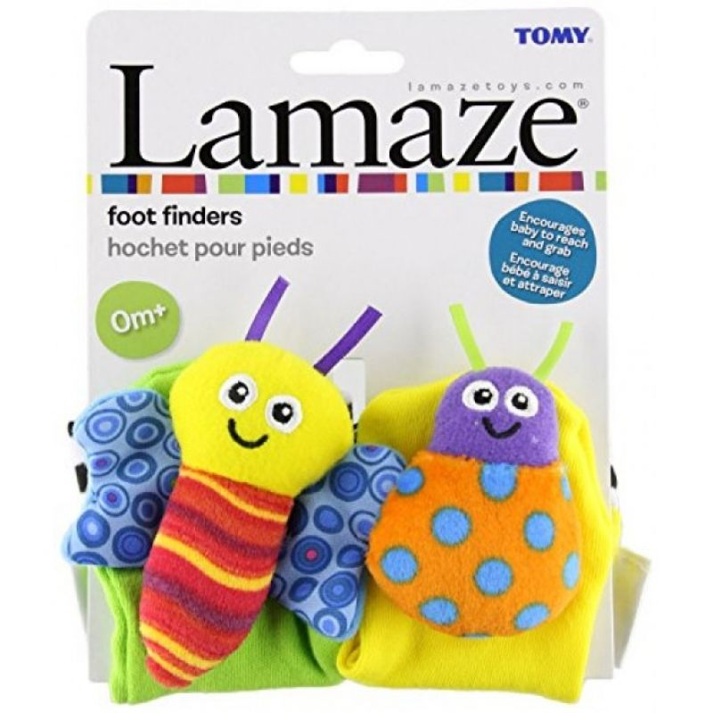 Lamaze High Contrast Foot Finder