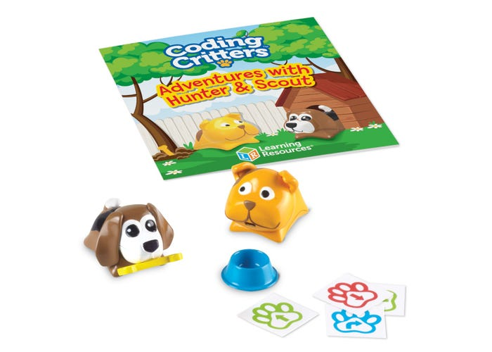 Learning Resources Coding Critters Pair-A-Pets: Hunter & Scout