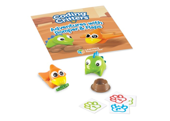 Learning Resources Coding Critters Pair-A-Pets: Romper & Flaps