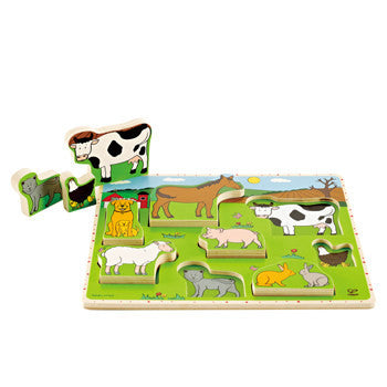 FARM ANIMALS STAND-UP PUZZLE