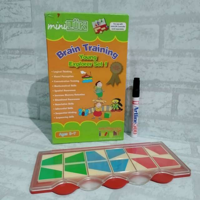 MiniLUK Brain Training: Young Explorer Set 1 with controller