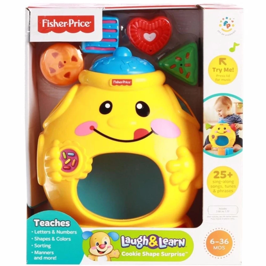 FP Laugh&Learn COOKIE SHAPE SURPRISE REFRESH