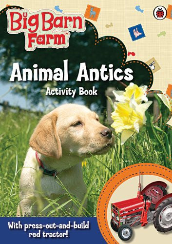 Big Barn Farm: Animal Antics Activity Book