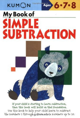 Kumon: My Book of Simple Subtraction