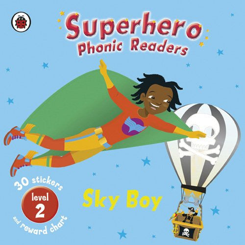Superhero Phonics Sky Boy, Softcover