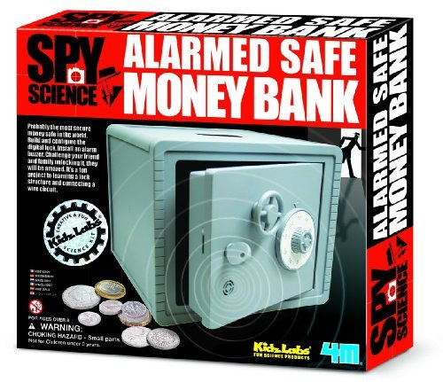 Spy Science Alarm Protection Money Bank