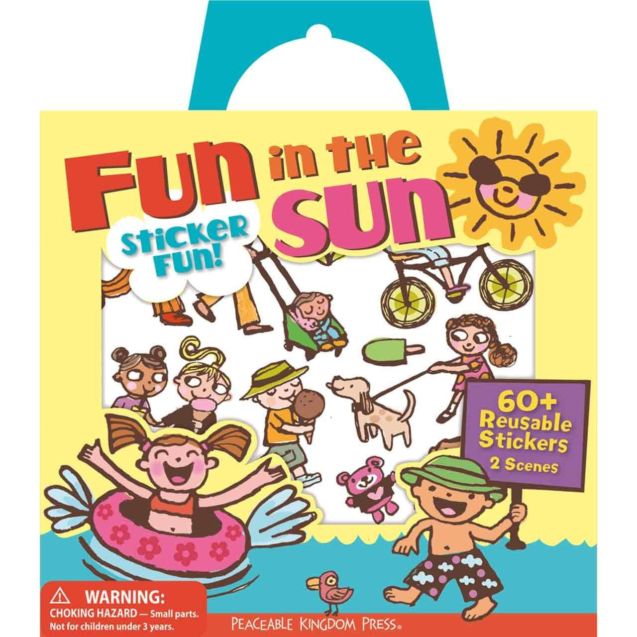 FUN IN THE SUN STICKER ACTIVITY TOTE