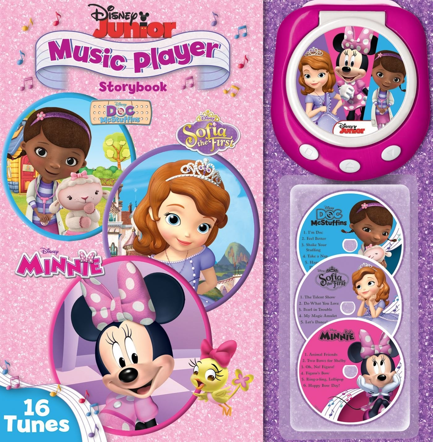 Disney Junior: Music Player Storybook - Doc McStuffins, Sofia the First, & Minnie Mouse