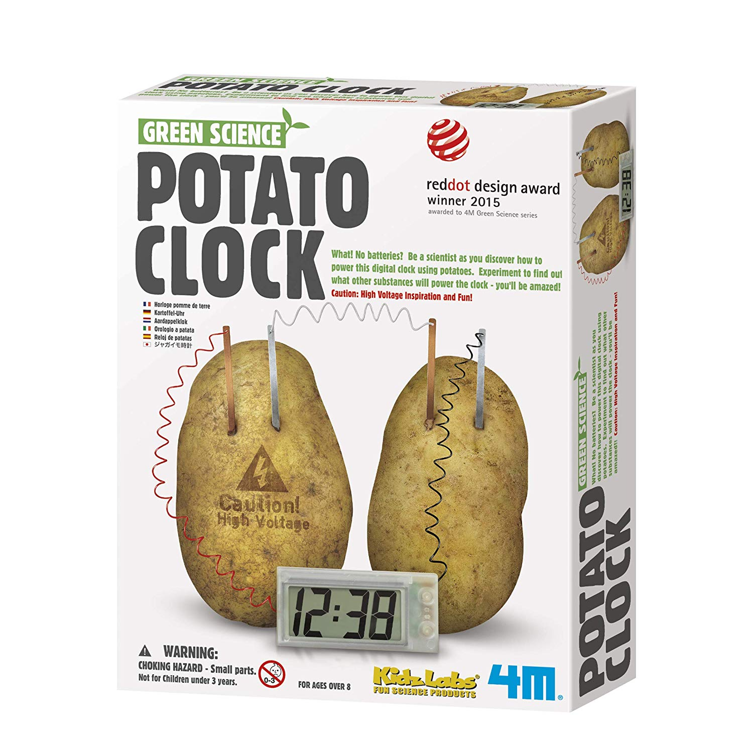 Green Science - Potato Clock