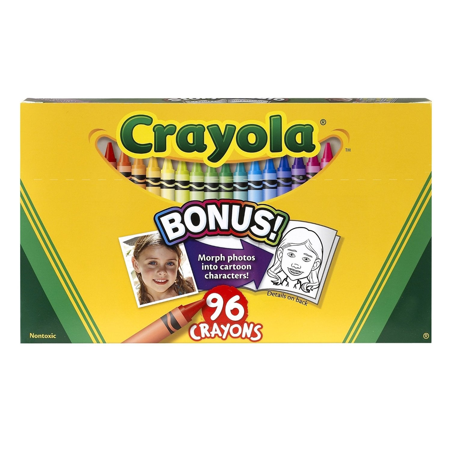 Crayola Classic Color Pack Crayons, Wax, 96 Colors