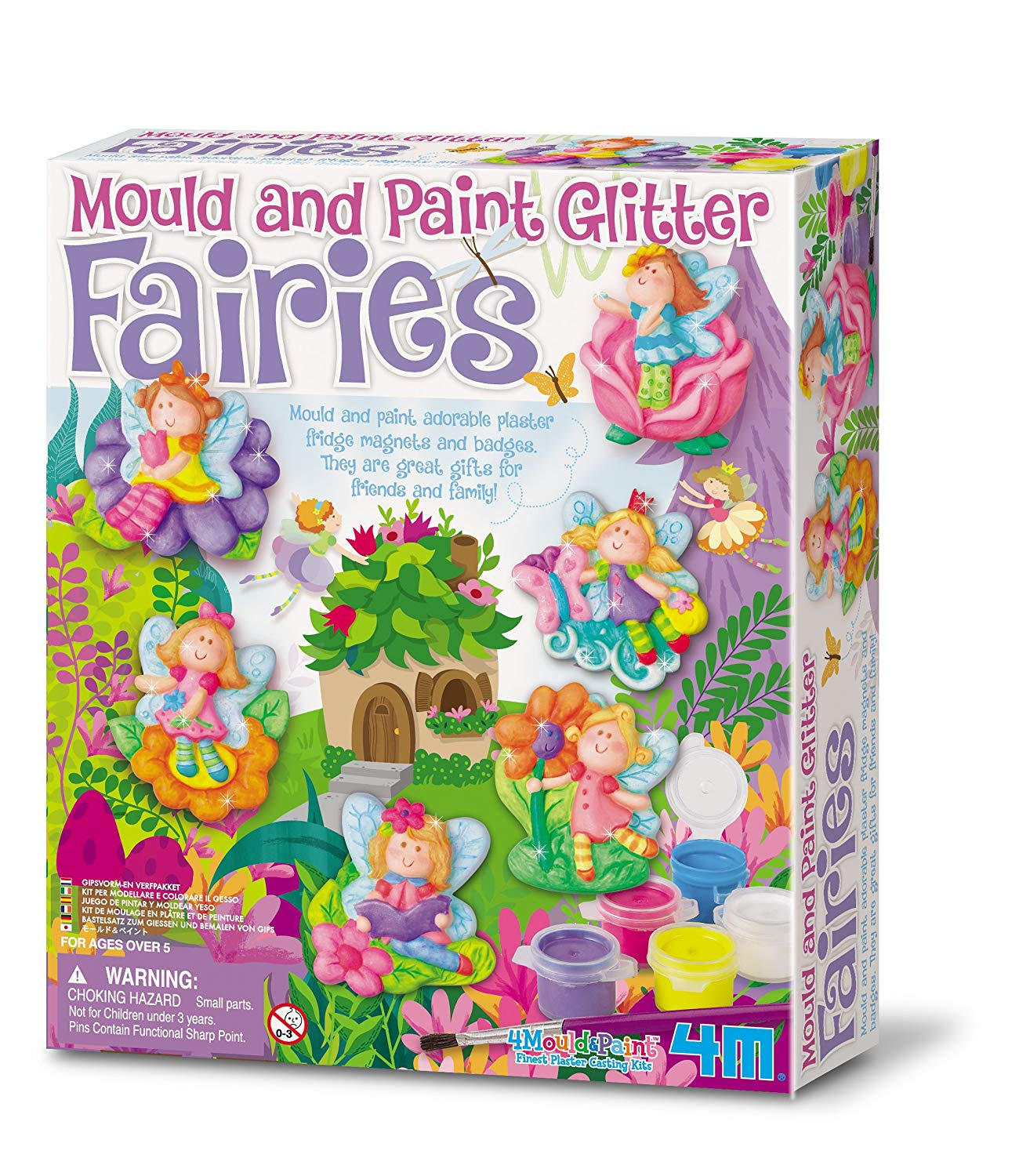 Mould & Paint - Glittery Fairy