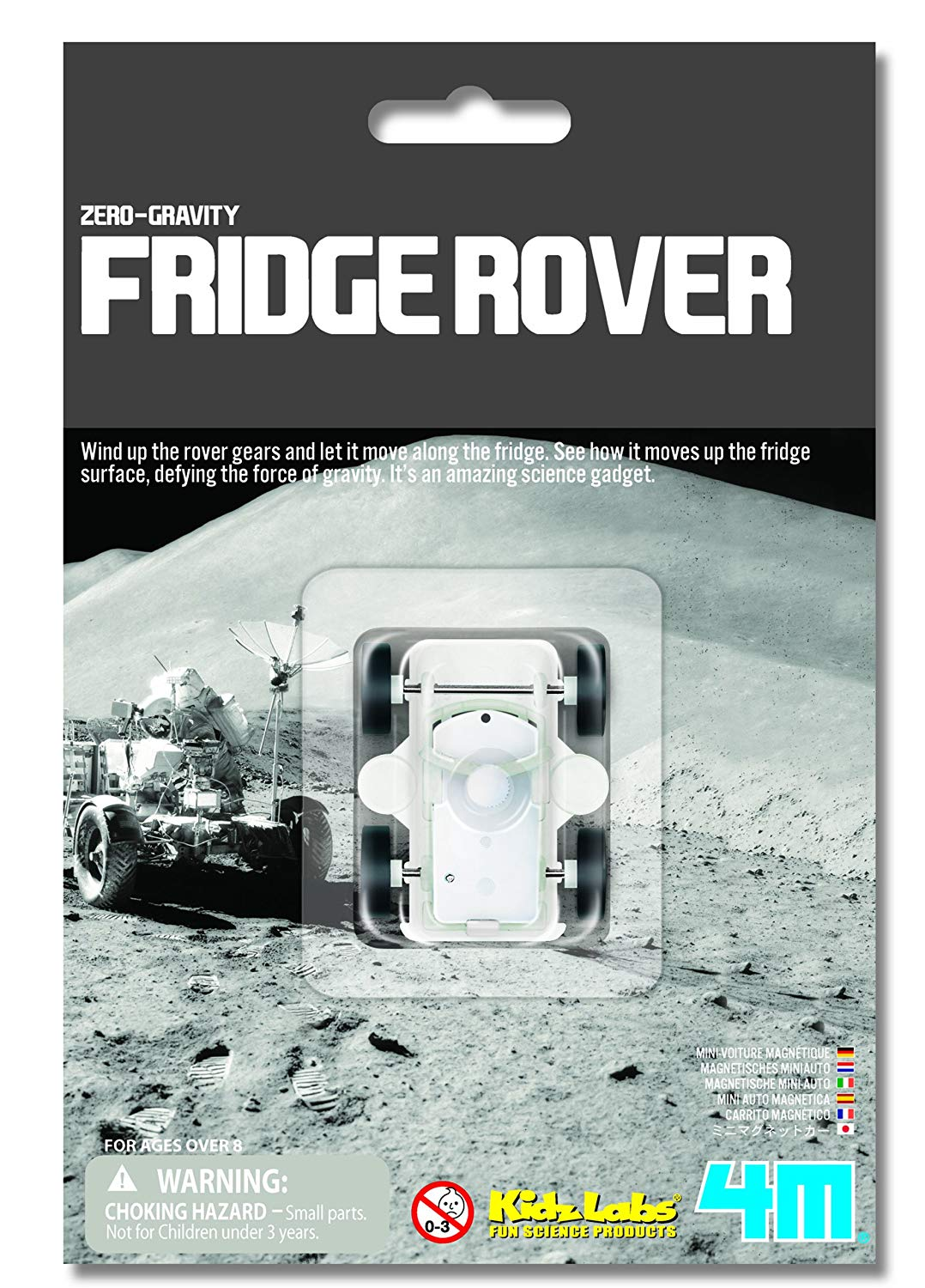Zero Gravity Fridge Rover