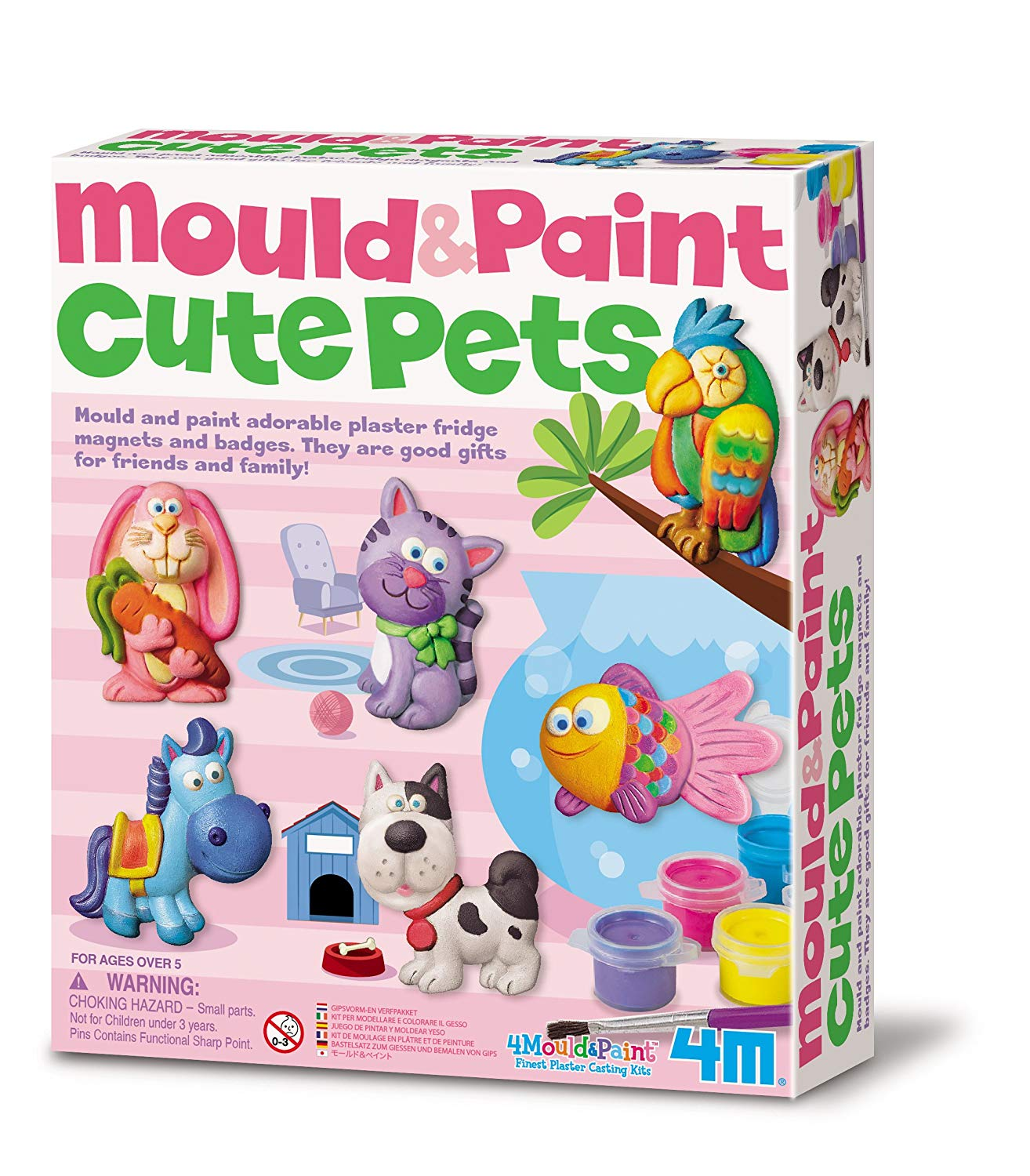 Mould & Paint - Cute Pets