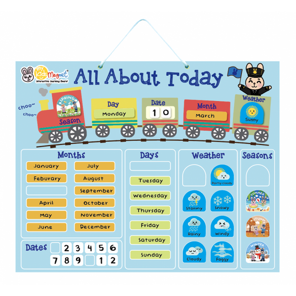 My Kids Magnet All About Today Magnetic Board