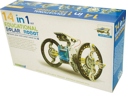 14 IN1 Solar Robot Kit