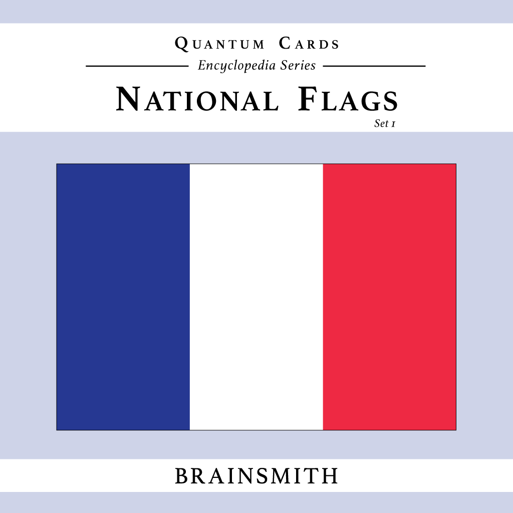 National Flags (Set I) Quantum Cards