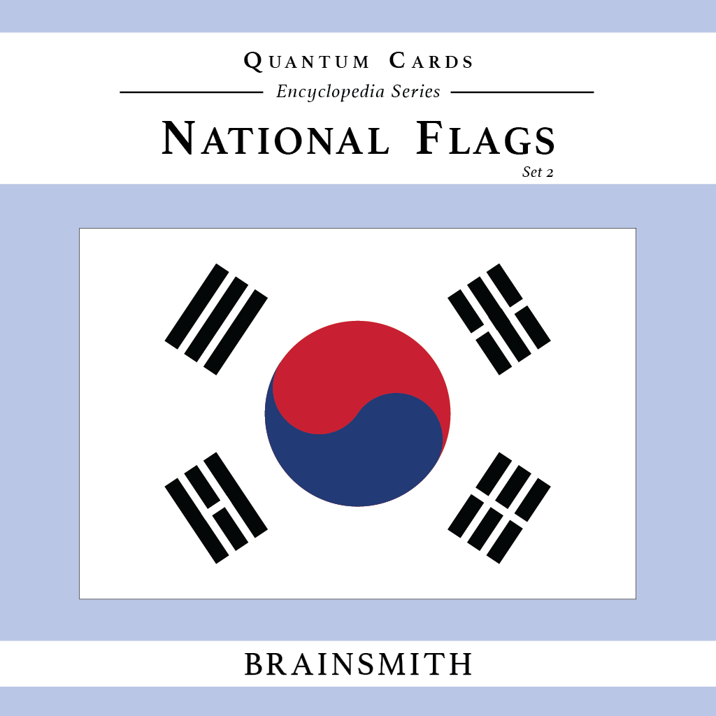 National Flags (Set II) Quantum Cards