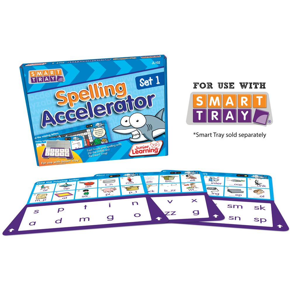 Junior Learning Spelling Accelerator (Set 1) for Smart Tray