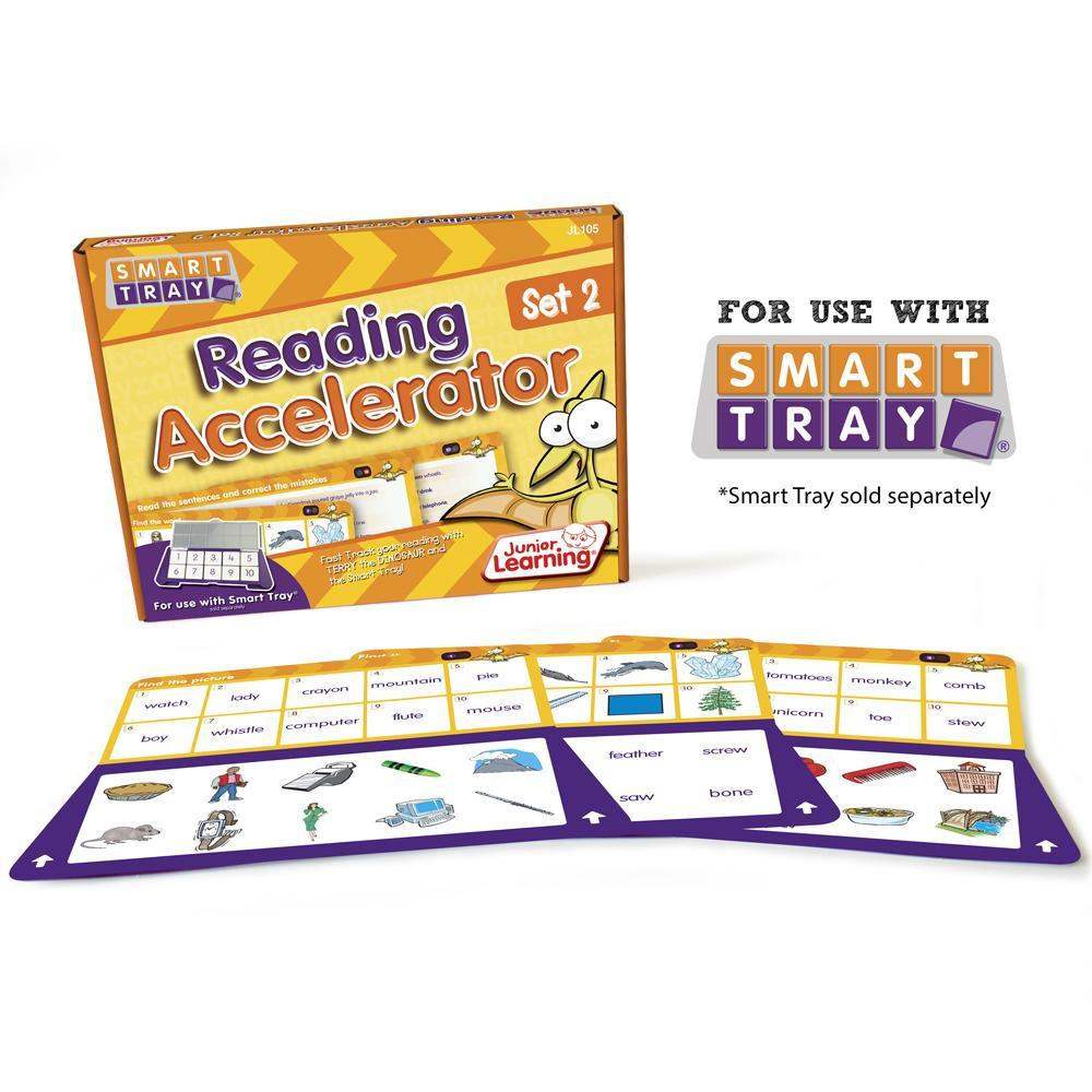 Junior Learning Reading Accelerator (Set 2) for Smart Tray
