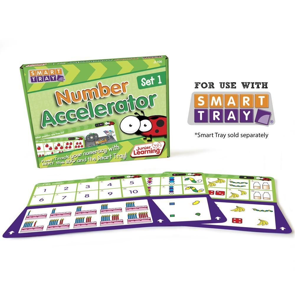Junior Learning Number Accelerator (Set 1) for Smart Tray