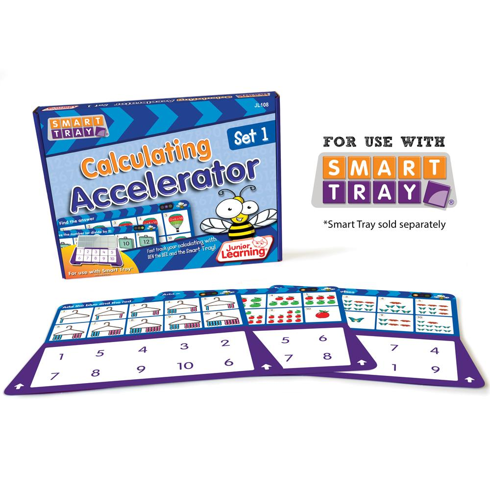 Junior Learning Calculating Accelerator (Set 1) for Smart Tray