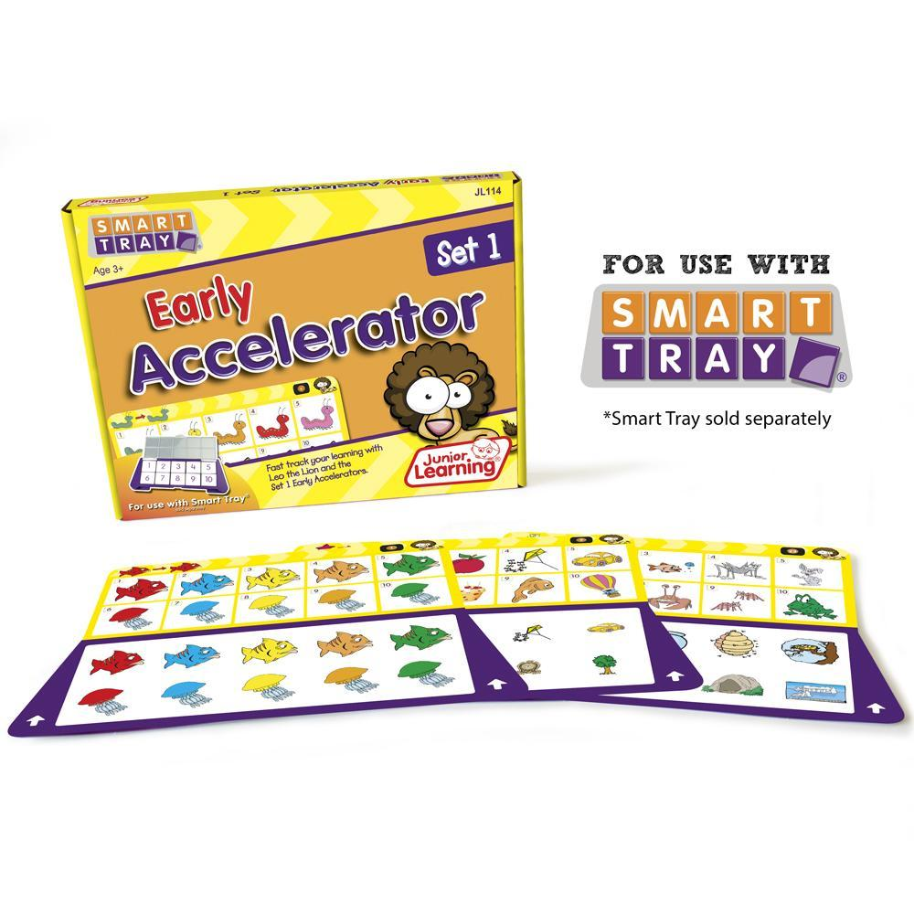 Junior Learning Early Accelerator (Set 1) for Smart Tray