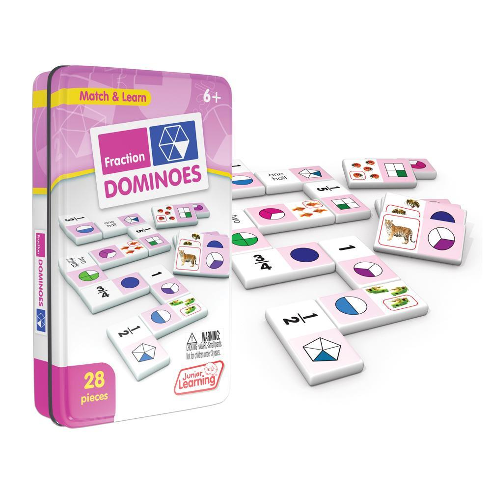 Junior Learning Fraction Dominoes