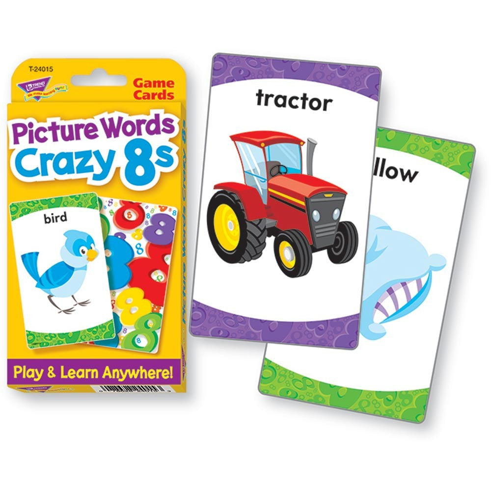 Challenge Cards Picture Words Crazy 8s