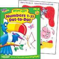 Numbers 1-31 Dot-to-Dot WOB