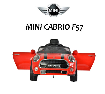Battery Operated Mini Cabriolet F57