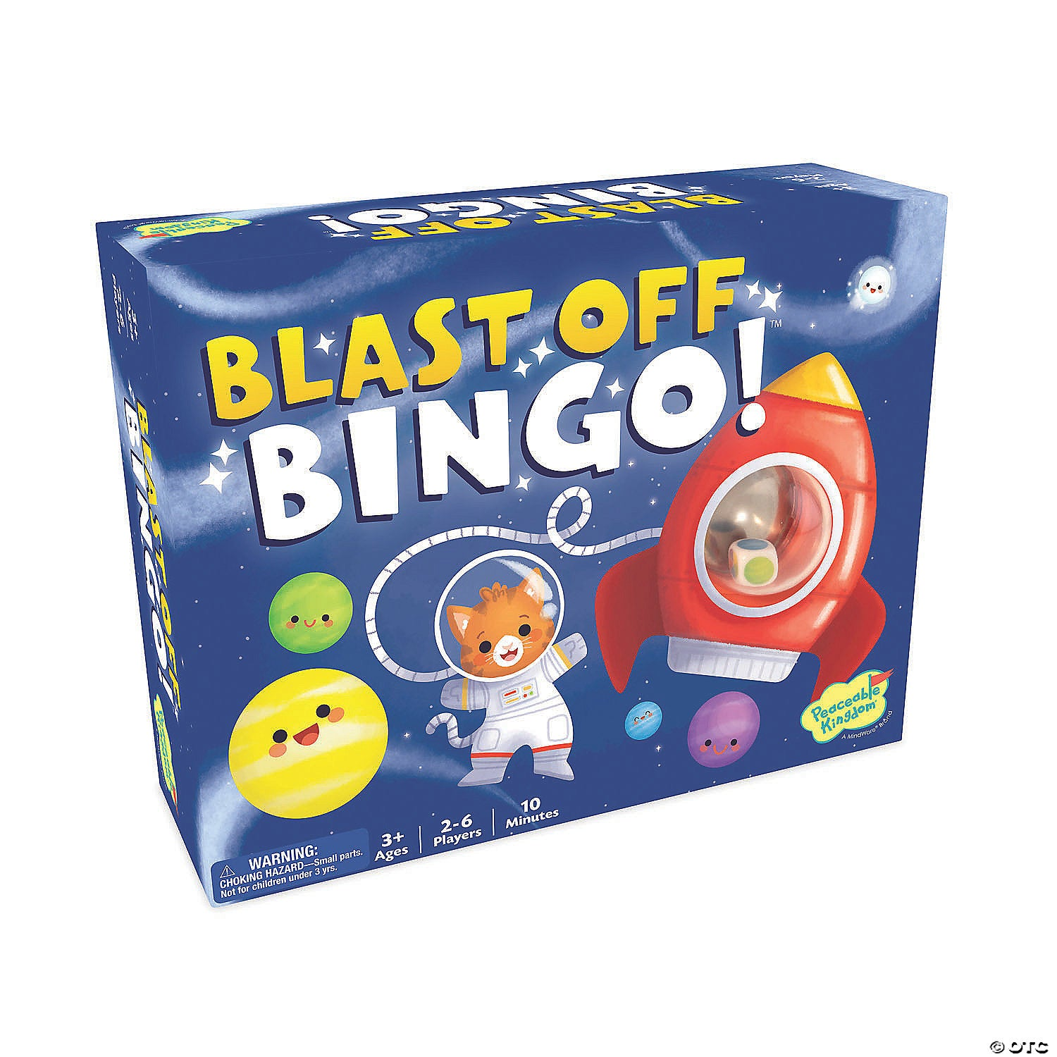 Peaceable Kingdom BLAST OFF, BINGO!