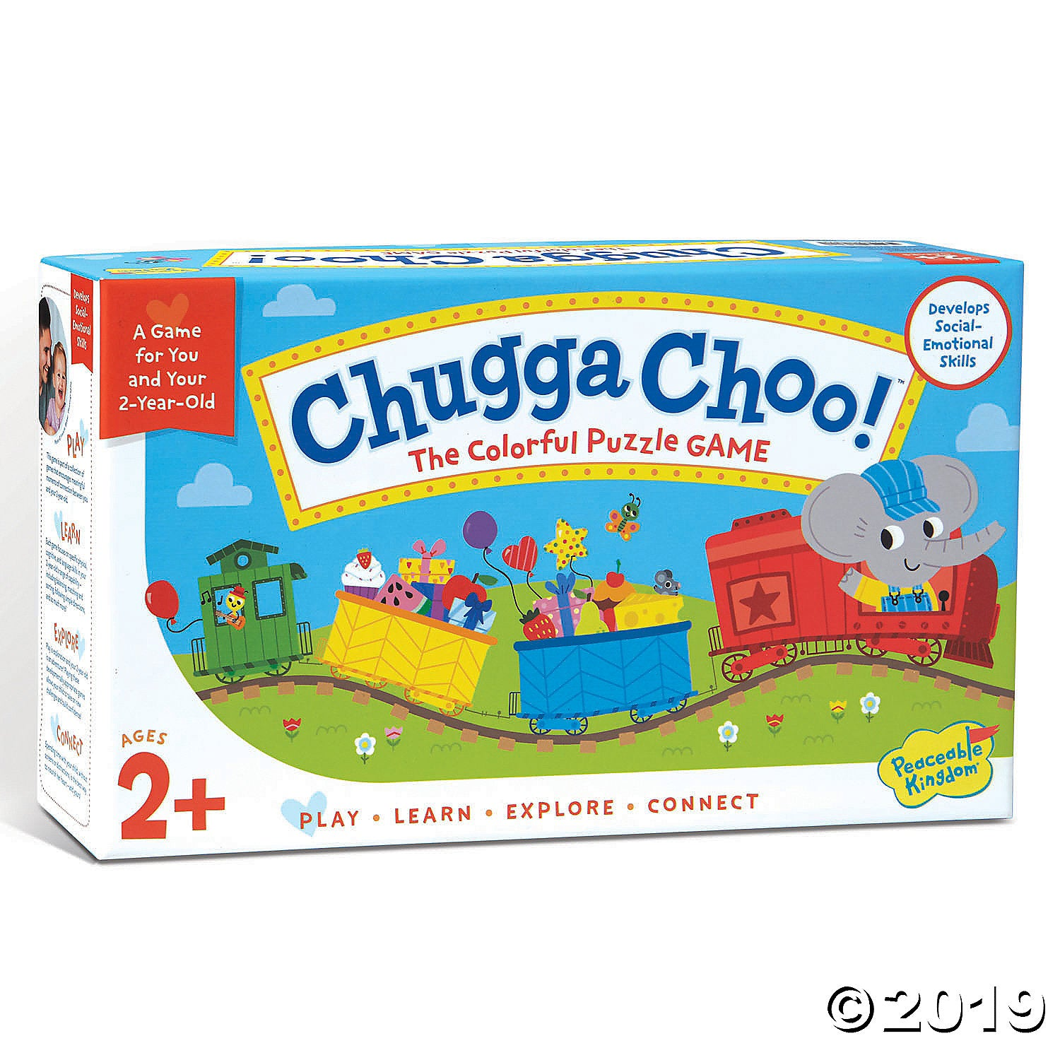 Chugga Choo! The Colorful Puzzle Game