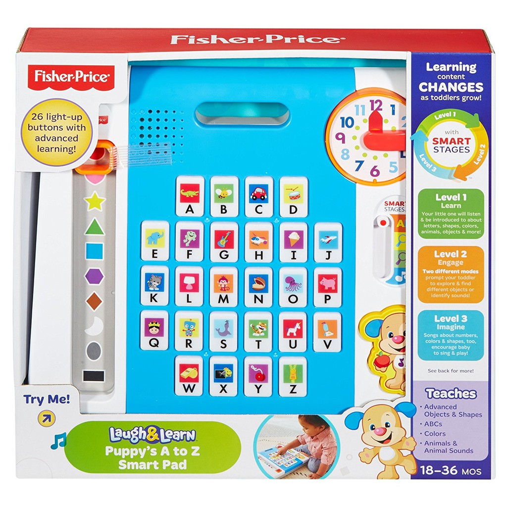 FP Laugh&Learn PUPPY A-Z SMART PANEL