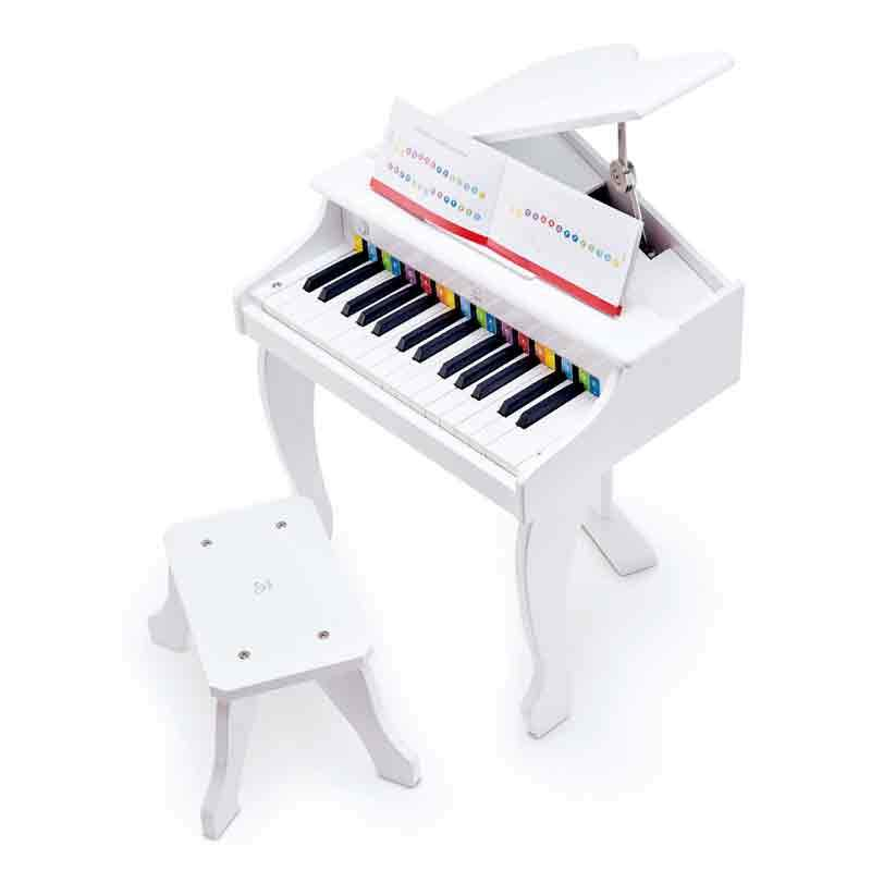 Hape Deluxe Grand Piano- White