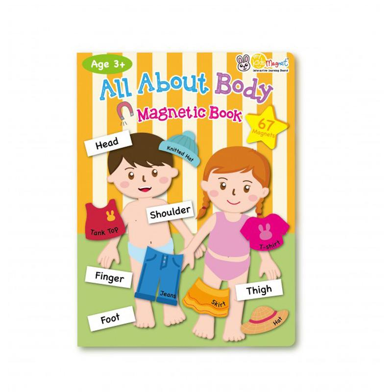 My Kids Magnet All About Body Magnetic Book