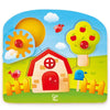 Hape Country Peg Puzzle