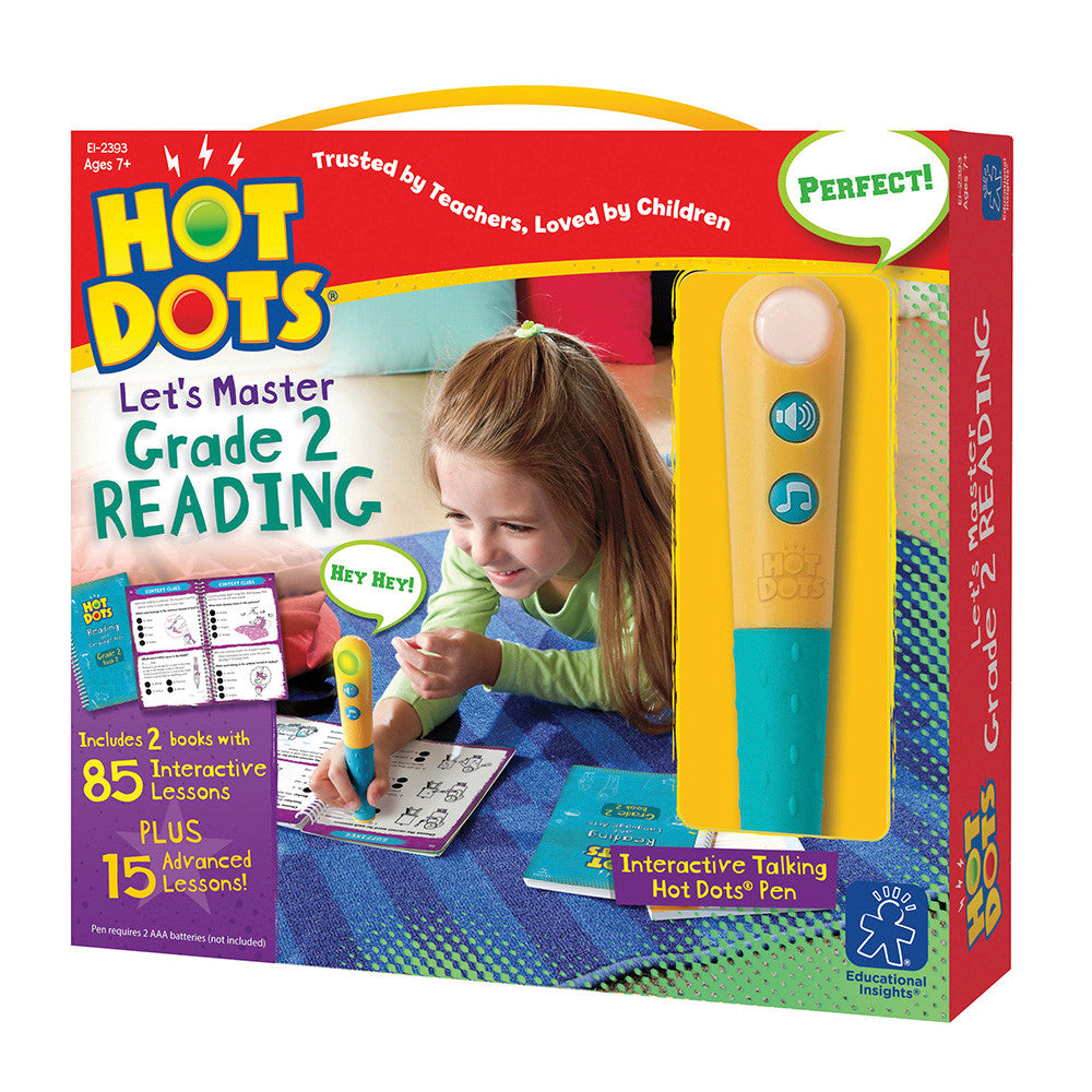 HOT DOTS® JR LET'S MASTER  GRADE 2 READING