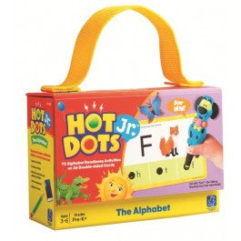 Hot Dots® Jr. Card Set The Alphabet