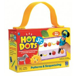 Hot Dots® Jr. Card Set Patterns & Sequence